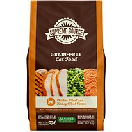 Supreme Source Chicken Meal & Turkey Meal Grain-Free Dry Cat Food, 3-lb bag