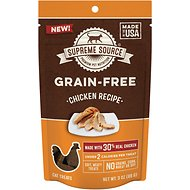 Supreme Source Chicken Grain-Free Soft Cat Treats, 3-oz bag