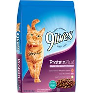 9 Lives Protein Plus with Chicken & Tuna Flavors Dry Cat Food, 12-lb bag