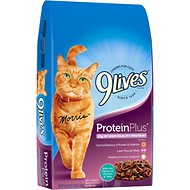 9 Lives Protein Plus with Chicken & Tuna Flavors Dry Cat Food, 3.15-lb bag