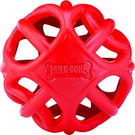 Milk-Bone Active Biscuit Dispensing Ball Interactive Dog Toy, Medium