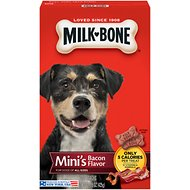 Milk-Bone Mini's Bacon Flavor Biscuit Dog Treats, 15-oz bag