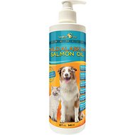 TerraMax Pro Premium Wild Alaskan Salmon Oil Skin & Coat Dog and Cat Liquid Supplement, 32-oz bottle