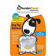 ThunderCover Mini Dog Tag Silencer, Clear