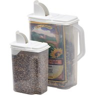 Buddeez Bird Seed Dispenser Combo, 2-pack