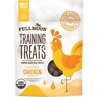 Full Moon Organic Chicken Training Dog Treats, 6-oz bag