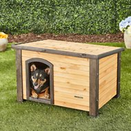Precision Pet Products Outback Log Cabin Dog House, Small