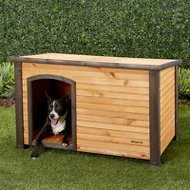 Precision Pet Products Outback Log Cabin Dog House, Medium