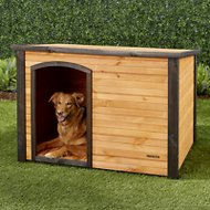 Precision Pet Products Outback Log Cabin Dog House, Large