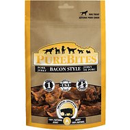 PureBites Bacon Style Pork Jerky Dog Treats, 11.4-oz bag