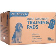 All-Absorb Super Absorbent Training Pads, 22 x 23 in, 200 count