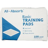 "All-Absorb Basic Training Pads, 22"" x 22"", 100 count"