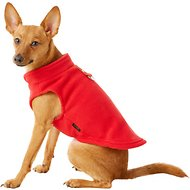 Gooby Fleece Dog & Cat Vest, Medium, Red