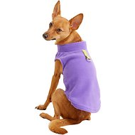 Gooby Fleece Dog & Cat Vest, Lavender, Medium