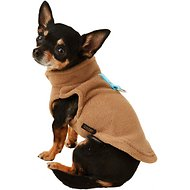 Gooby Fleece Dog & Cat Vest, Clay, X-Small
