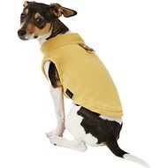 Gooby Fleece Dog & Cat Vest, Honey Mustard, Small