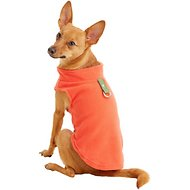 Gooby Fleece Dog & Cat Vest, Pumpkin, Medium