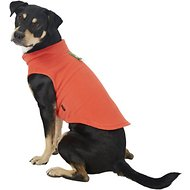 Gooby Fleece Dog & Cat Vest, Pumpkin, X-Large