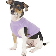 Gooby Stretch Fleece Dog & Cat Vest, Lavender, X-Small