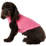 Gooby Stretch Fleece Dog & Cat Vest, Medium, Pink