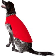 Gooby Stretch Fleece Dog & Cat Vest, Red, 3X-Large