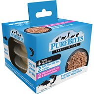 PureBites Mixers 100% Wild Skipjack Tuna & Alaskan Salmon Variety Pack Cat Food Trays, 1.76-oz, case of 4