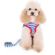Alfie Pet Vince Sailor Harness & Dog Leash, X-Small