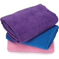 Top Performance Microfiber Pet Towel, 3-Pack, 48 x 28 Assorted