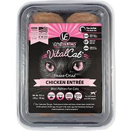 Vital Essentials Chicken Mini Patties Entree Freeze-Dried Cat Food, 10.5-oz tub