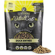 Vital Essentials Duck Mini Nibs Entree Freeze-Dried Cat Food, 12-oz bag