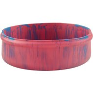 Ruff Dawg Rubber Dog Bowl, Color Varies, 8-inch