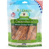 Pet Center Chicken Fillet Dog Treats, 6-oz bag