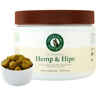 Veterinary Naturals Hemp & Hips Chicken Flavor Soft Chews for Dogs, 60 count