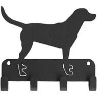 SportHooks Labrador Dog Leash & Key Holder, 6-in