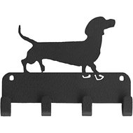 SportHooks Dachshund Dog Leash & Key Holder, 6-in