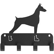 SportHooks Doberman Dog Leash & Key Holder, 6-in