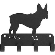 SportHooks French Bulldog Dog Leash & Key Holder, 6-in