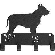 SportHooks Pit Bull Dog Leash & Key Holder, 6-in