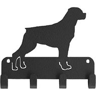 SportHooks Rottweiler Dog Leash & Key Holder, 6-in