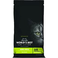 Zero Mess by World's Best Advanced Pine Scented Cat Litter, 6-lb bag