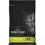 Zero Mess by World's Best Advanced Pine Scented Cat Litter, 12-lb bag