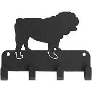 SportHooks Bulldog Dog Leash & Key Holder, 6-in