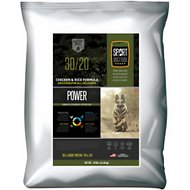 Sport Dog Food 30/20 Power Blend Chicken & Rice Formula High Protein Dry Dog Food, 50-lb bag