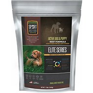 Sport Dog Food Elite Active Dog & Puppy Beef Formula Grain-Free Pea-Free Dry Dog Food, 12-lb bag