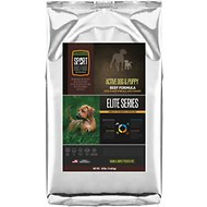 Sport Dog Food Elite Active Dog & Puppy Beef Formula Grain-Free Pea-Free Dry Dog Food, 30-lb bag