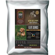Sport Dog Food Elite Active Dog & Puppy Beef Formula Grain-Free Pea-Free Dry Dog Food, 50-lb bag