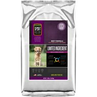 Sport Dog Food Elite Limited Ingredient Diet Beef Formula Grain-Free Pea-Free Dry Dog Food, 30-lb bag