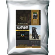 Sport Dog Food 20/10 Maintenance Beef & Rice Formula Dry Dog Food, 50-lb bag