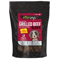 Etta Says! Grilled Beef Sliders with Real Blueberry & Quinoa Dog Treats, 6-oz bag