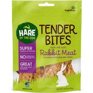 Hare of the Dog Rabbit Tender with All-American Rabbit Dog Treats, 4.5-oz bag